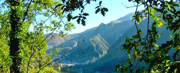 Veduta di Equi Terme