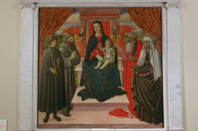 Bernardino del Castelletto Sacra Conversazione