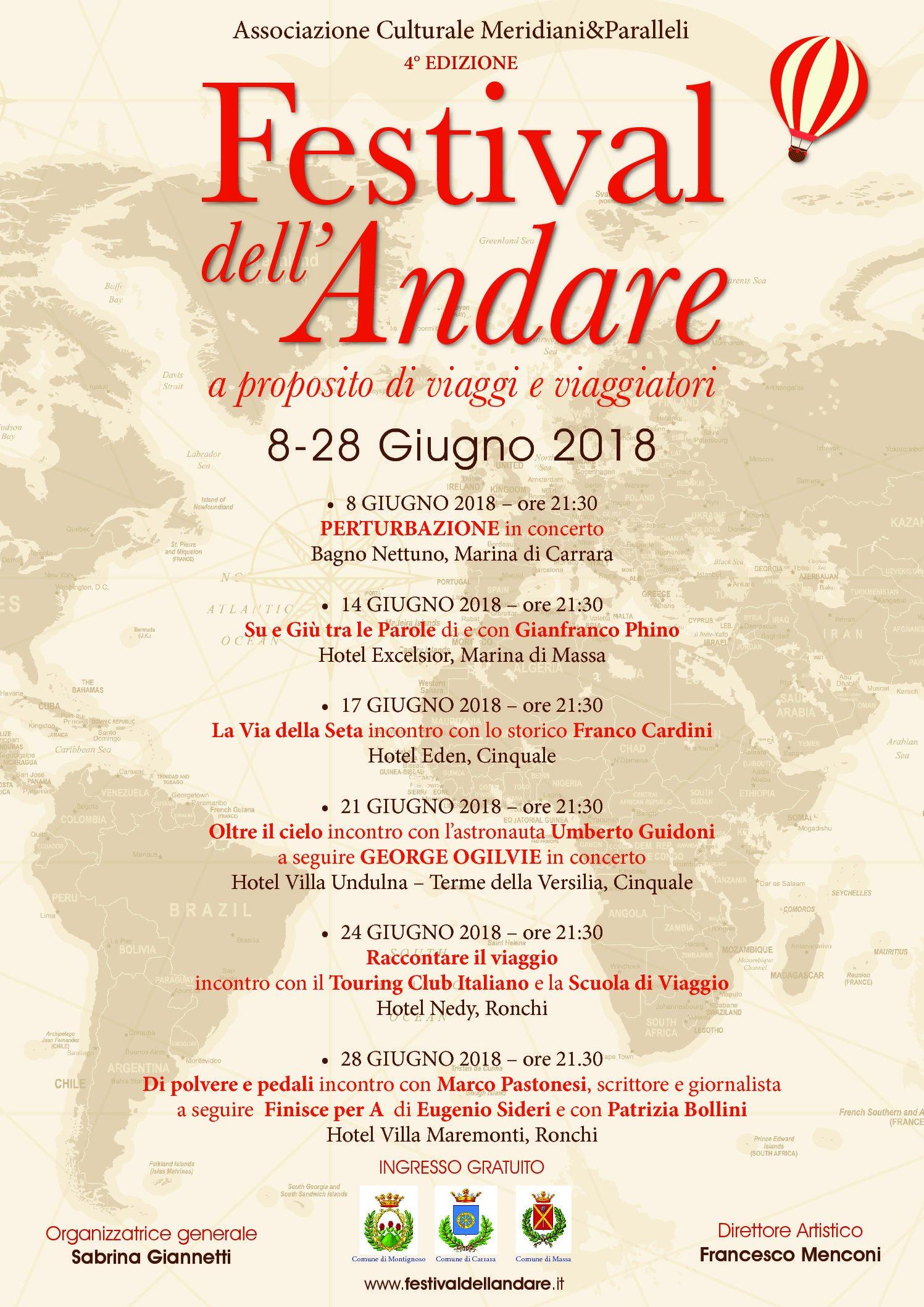 4° Edizione del Turismo Festival dell'Andare Turismo del Massa Carrara b0540c