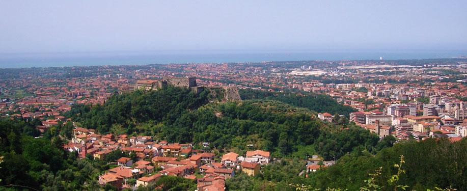 Vista panoramica dal Belvedere